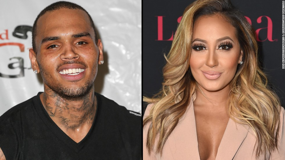 Chris brown dating lindsay lohan