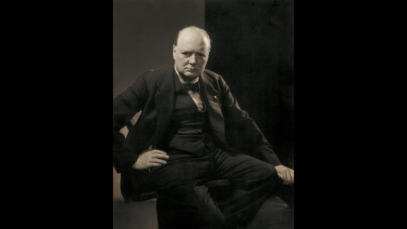 This picture of Winston Churchill, taken in 1932, was commissioned by Vanity Fair but never published. It has never been shown in public before.