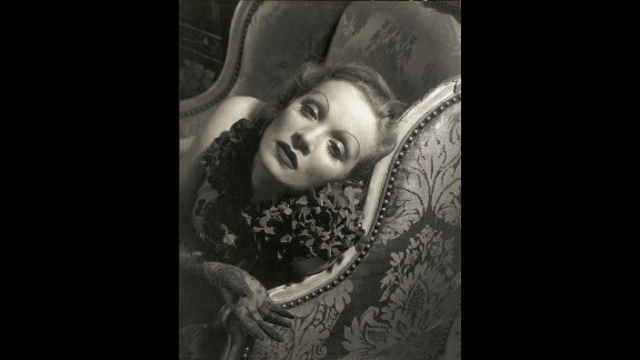 Marlene Dietrich appeared in Vanity Fair on June 1, 1935. In the days before professional models, actresses were chosen to model by Conde Nast, who recognized their ability to relate to the camera.