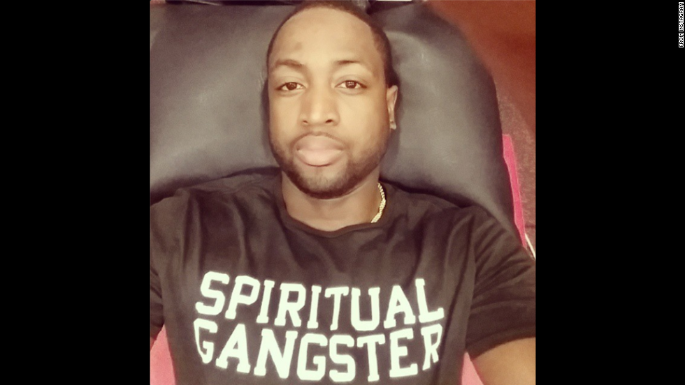 """Treatment day...rest, recover, relax and laugh,"" basketball star Dwyane Wade said <a href=""http://instagram.com/p/u8Z03wFCFc/?modal=true"" target=""_blank"">on his Instagram account</a> on Monday, November 3."
