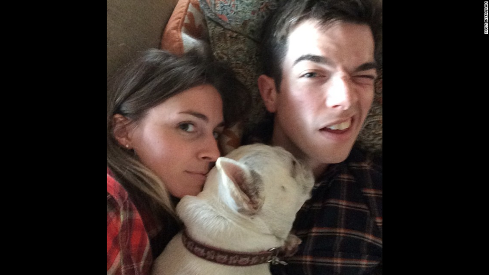 """My dog has never signed a release for any of these photos,"" actor John Mulaney <a href=""http://instagram.com/p/u-v66EQifg/?modal=true"" target=""_blank"">wrote on Instagram</a> on Tuesday, November 4."