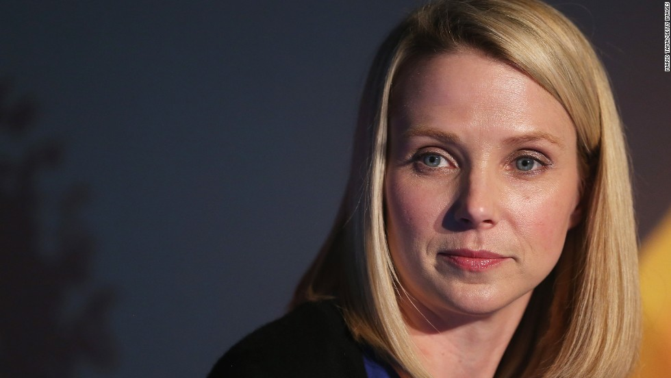 "Mayer is CEO of Yahoo, one of a handful of women who have reached the pinnacle of their industry. Known for her fierce intelligence, she admitted in a <a href=""http://www.vogue.com/865211/hail-to-the-chief-yahoos-marissa-mayer/"" target=""_blank"">Vogue interview</a> to being ""geeky and shy."" She forces herself to stay at parties for a fixed period of time even if she is having a bad time."