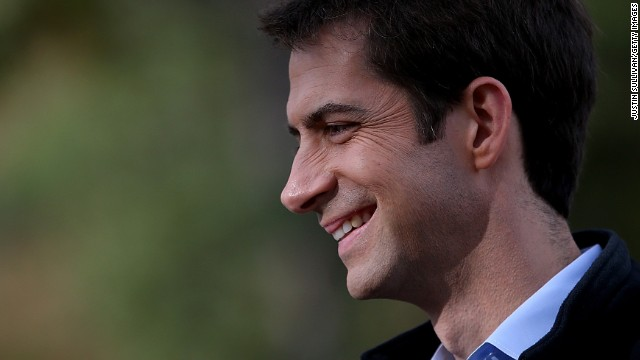 Arkansas Republican Sen. Tom Cotton says he wants a vote on his amendment.