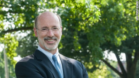 Pennsylvania Gov. Tom Wolf is seen in this 2014 portrait.
