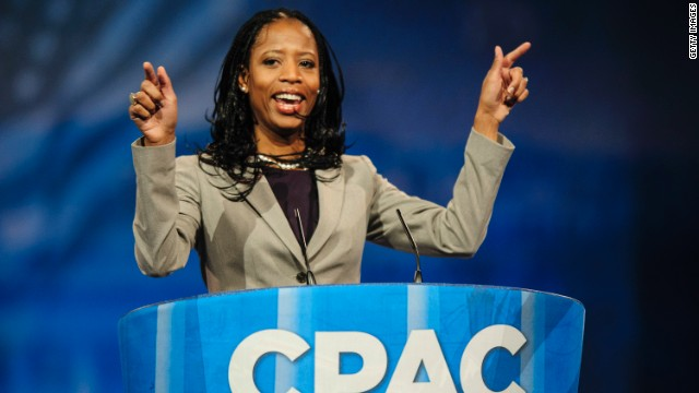 Utah Rep. Mia Love, above, is navigating the challenges of being a prominent new member of Congress.