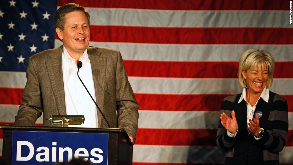 Rep. Steve Daines has become the first Republican to represent Montana in the U.S. Senate after Democrats controlled that seat for over a century. Daines, a former businessman, was elected to the House in 2012.