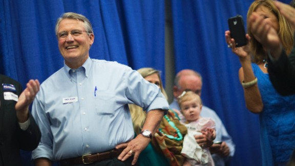 Republican businessman Rick Allen ousted Democratic incumbent Rep. John Barrow from his Georgia District 12 seat.