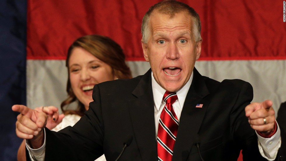 Republican Thom Tillis managed to edge ahead of North Carolina Democratic incumbent Sen. Kay Hagan following an aggresive neck-and-neck senate race.