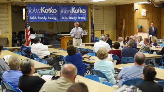 Republican John Katko's recent surge in the polls managed to lead him to victory in New York's 24th Congressional District. He unseated Democratic incumbent Rep. Dan Maffei.