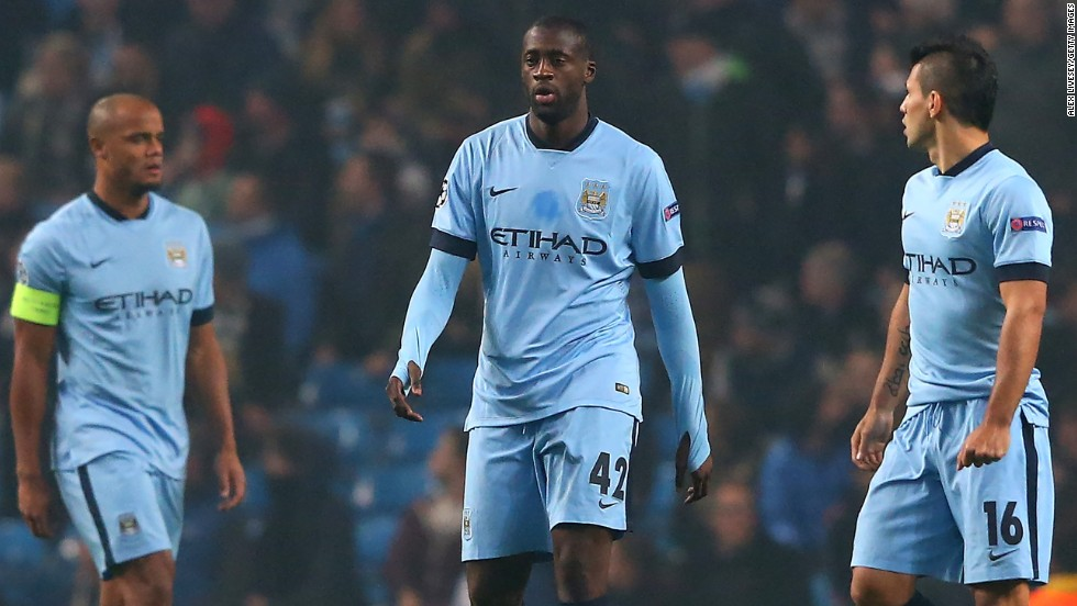To add insult to injury City had two players sent off -- Fernandinho and Yaya Toure. It is now highly unlikely to make it out of the group.