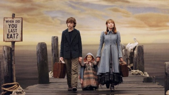 """""""Lemony Snicket's A Series of Unfortunate Events"""": In 2004, Lemony Snicket's dark but beloved children's title """"A Series of Unfortunate Events"""" was adapted into a live-action movie starring Jim Carrey. Now, Snicket's story of a trio of kids who are hit by one """"unfortunate event"""" after another is being turned into a TV series by Netflix."""