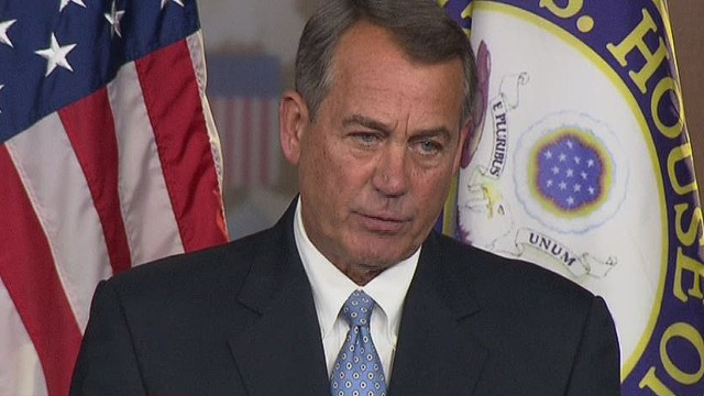 Boehner: We will move to repeal Obamacare
