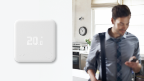 As soon as you leave the house, tado° turns down the heating and has warmed it up by the time you come home.