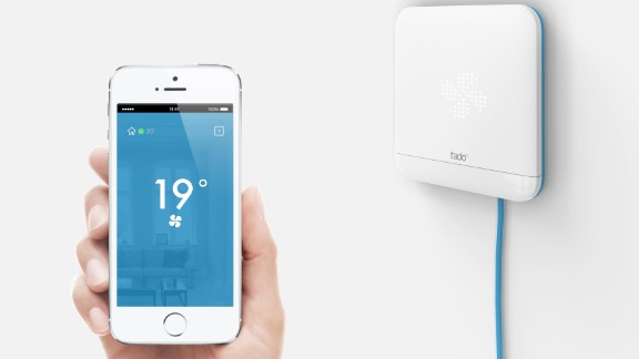 Meet tado°, a Thermostat that allows you to control your heating via your smartphone.