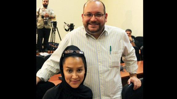 Washington Post correspondent Jason Rezaian and his wife, Yeganeh Salehi, are shown in Iran last year.