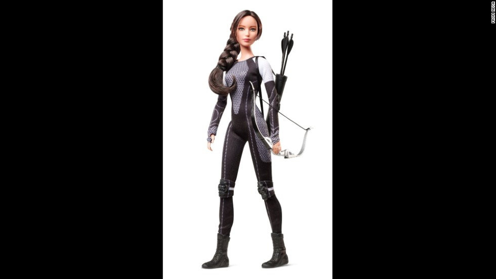 """Hunger Games"" heroine Katniss Everdeen is ready to fight for her supper with her ubiquidous bow and arrow. Everdeen, created by Suzanne Collins for her young adult book series, has become a symbol of empowerment for girls -- some of whom say they've <a href=""http://www.cnn.com/2012/12/27/showbiz/archery-pop-culture-2012/"">taken up archery</a> in emulation of the character."
