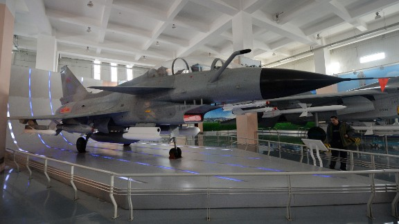 Currently, at least two new Chinese fighter jets are being developed, including the Chengdu J-20, a successor to the Chengdu J-10 fighter jet shown in Beijing on December 4, 2013.