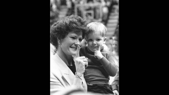 Pat Summitt was 43 before she received a hug from her own father. She made sure her son always knew her love for him, hugging him often.