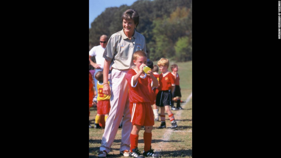 Tyler Summitt gave soccer a try, but eventually his love of basketball took over.