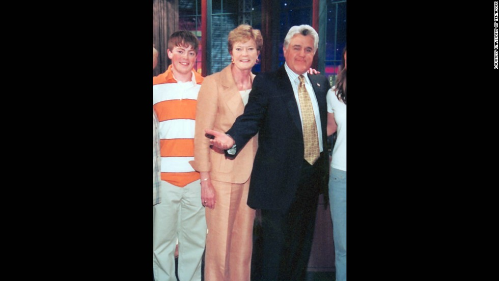 "Although Tyler has met presidents and stars like Jay Leno, Pat Summitt raised him to be humble and true to his roots. ""Be yourself,"" she tells him."