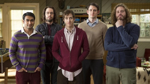 "With only two seasons and 18 episodes to its name, ""Silicon Valley"" was a highly rated choice for binge-watching. Each episode is packed with raunchy jokes and cringe-inducing nerdiness to make viewing a breeze."