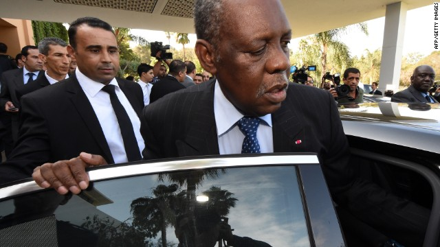 CAF president Issa Hayatou has been in Rabat, Morocco, for crisis meetings.