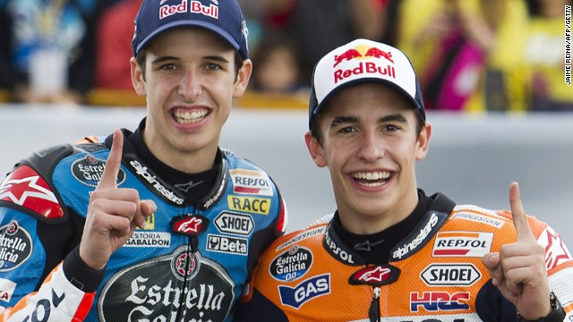 Marquez brothers make MotoGP history in Valencia - CNN