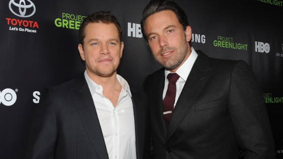 "Matt Damon and Ben Affleck are the poster boys of bromance. In fact, when Affleck was cast as Batman, there were jokes about Damon playing Robin. After their Oscar-winning script for ""Good Will Hunting,"" the pair continued to work together in movies like ""Dogma."" Now they have teamed up again for Syfy thriller ""Incorporated."" See more of our favorite male besties ..."