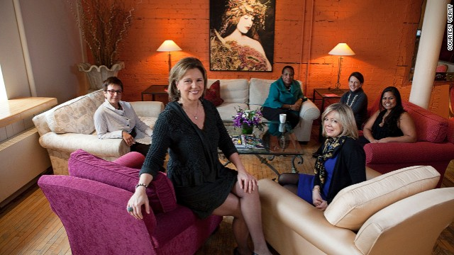 Women gather at Verity, an exclusive private members club for women who want to invest in themselves.