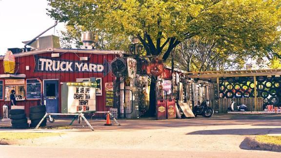 """<a href=""""http://texastruckyard.com/"""" target=""""_blank"""" target=""""_blank""""><strong>Truck Yard</strong></a><strong>: Dallas, Texas</strong>"""