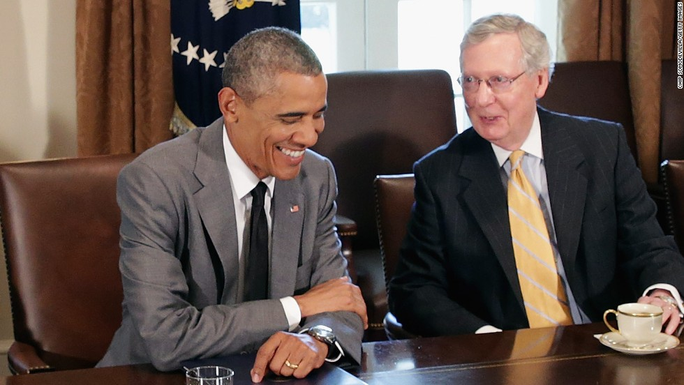 Obama mcconnell meet without bourbon cnnpolitics president barack obama and kentucky sen mitch mcconnell meet privately for just the third time m4hsunfo Image collections