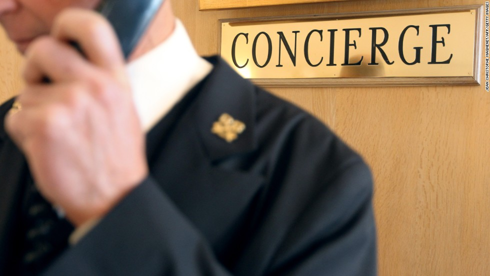 There's a permanent concierge service on hand to help employees at SC Johnson.