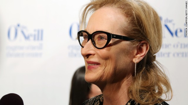 Meryl Streep attends the Monte Cristo awards in New York in 2014.