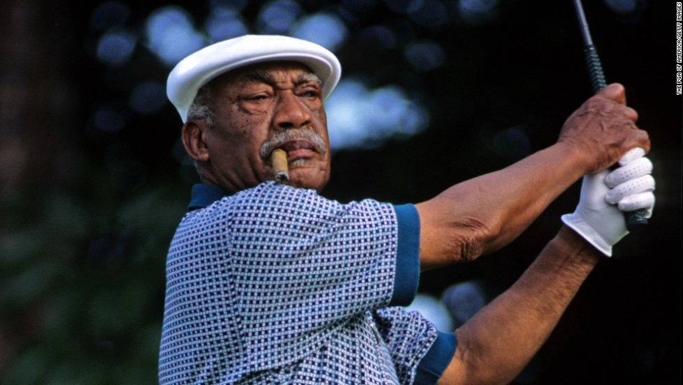 "Pro athlete Charlie Sifford desegrated the world of golf in 1961, when he became the first black golfer to join the PGA Tour. Upon hearing the news that Sifford would be honored with the Presidential Medal of Freedom, golf star <a href=""https://twitter.com/TigerWoods/status/531998933586038785"" target=""_blank"">Tiger Woods tweeted</a>, ""You're the grandpa I never had. Your past sacrifices allow me to play golf today. I'm so happy for you Charlie."""