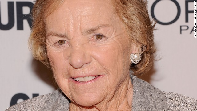 Ethel Kennedy attends the 22nd annual Glamour Women of the Year Awards at Carnegie Hall on November 12, 2012, in New York City.