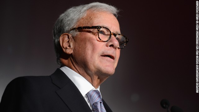 NEW YORK, NY - SEPTEMBER 29:  Journalist Tom Brokaw speaks at the 29th Annual Great Sports Legends Dinner to benefit The Buoniconti Fund to Cure Paralysis at The Waldorf Astoria on September 29, 2014 in New York City.  (Photo by Stephen Lovekin/Getty Images for The Buoniconti Fund To Cure Paralysis)