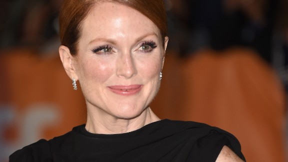 50-year-old Jurassic Park actress Julianne Moore fronted clothing brand Talbot's ad campaign in 2011.