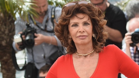 ophia Loren, 80, put younger models to shame as she flew to Taiwan to promote Italian luxury jewelery brand Damiani in 2014.