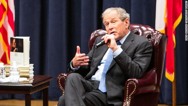 Bush: My father was 'Comforter in Chief'
