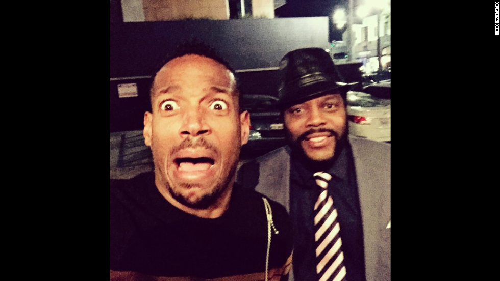 "Marlon Wayans <a href=""http://instagram.com/p/vEZfLeQzFf/"" target=""_blank"">took a selfie</a> with ""Walking Dead"" actor Chad Coleman on Wednesday, November 5. ""Ahhhhh ZOMBIES!!!!"""