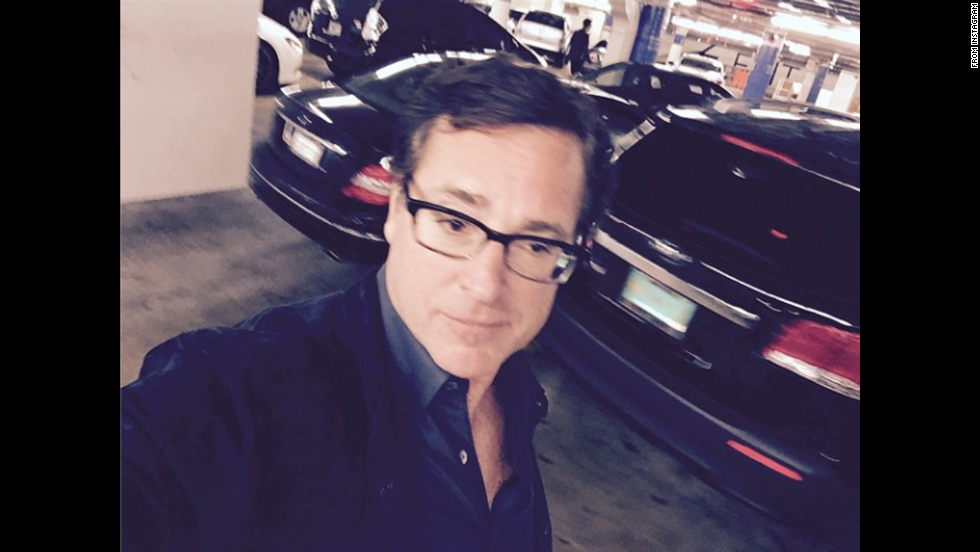 "Actor and comedian Bob Saget <a href=""http://instagram.com/p/vFkvzjzP4S/"" target=""_blank"">posted this selfie</a> on Friday, November 7, with the caption, ""Dude, where's my car."""
