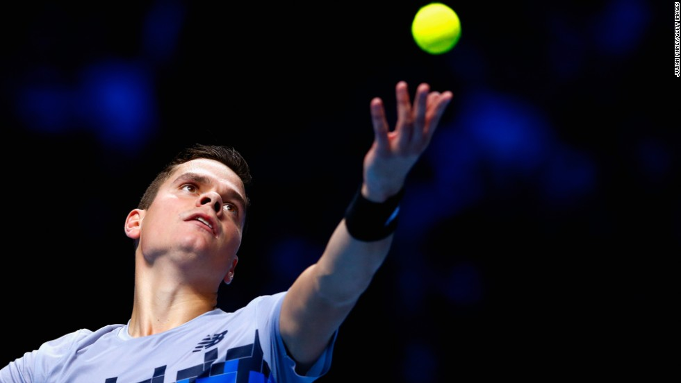 The big-serving Raonic failed to hit top form with his strongest weapon, with Murray relieved the Canadian 'didn't serve as well as he can.'