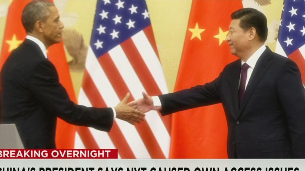U.S. and China reach new starting point