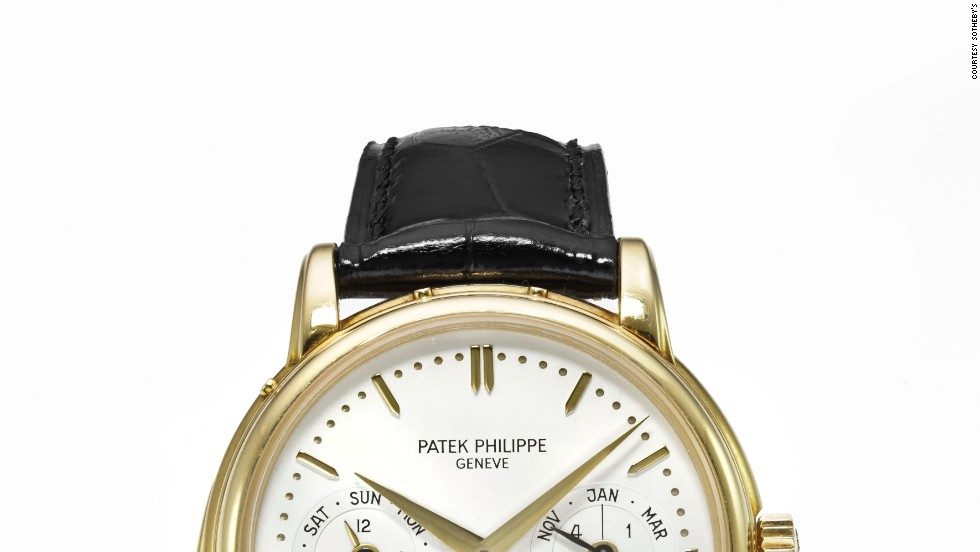 The next most valuable lot, also from Swiss luxury watchmaker Patek Philippe, sold for $339,564.