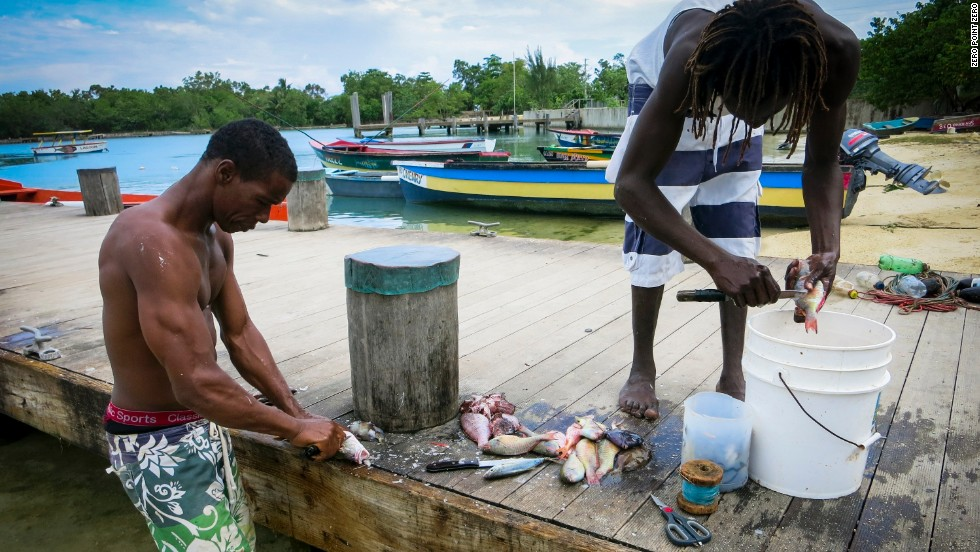 Parts Of Jamaica >> Bourdain Dines Jamaican Style Cnn