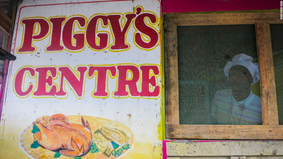 Piggy's in Port Antonio is a local favorite for jerk chicken.