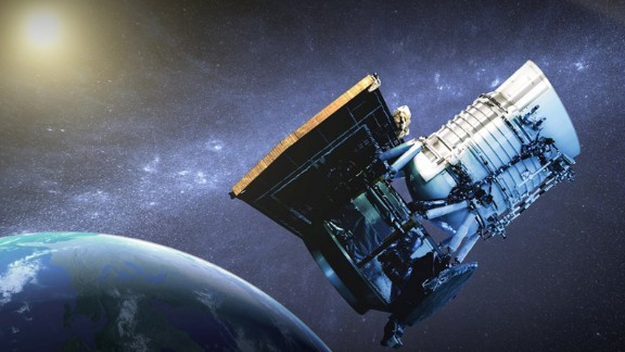 NASA's infrared-wavelength space telescope called NEOWISE may help make us safer. The space telescope hunts for asteroids and comets, including those that could pose a threat to Earth. During its planned three-year survey through 2016, NEOWISE will identify near-Earth objects, gather data on their size and take other measurements. The probe was launched on December 14, 2009, for its original mission -- to perform an all-sky astronomical survey. The probe was put in hibernation for several years, but it was fired up again in December 2013 to hunt for asteroids. Its images are now available to the public online.