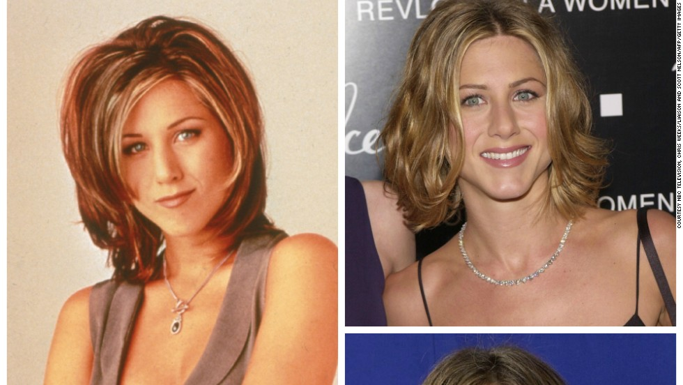 Made famous by Jennifer Aniston in the early seasons of Friends, the 'Rachel' was voted the most popular hairstyle among British women in a 2010 poll.