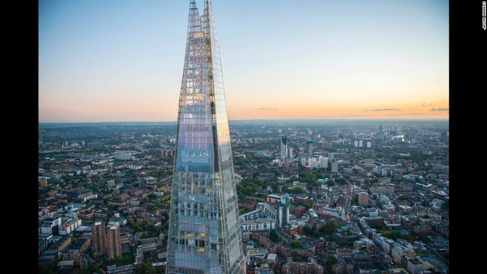 The Shard, Western Europe's tallest building.