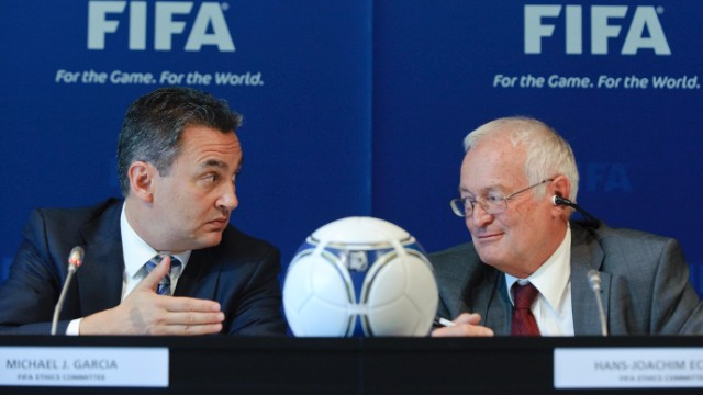 FIFA reveals summary of 'Garcia Report'
